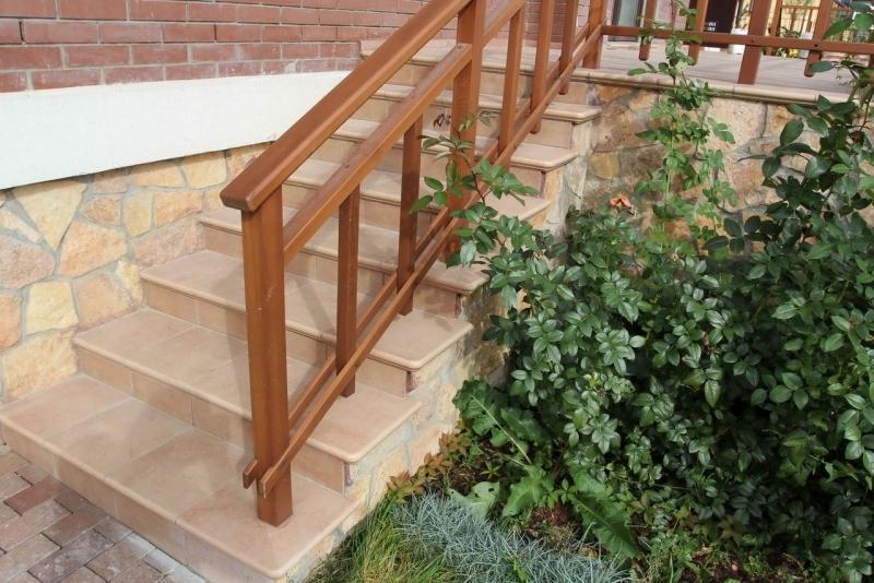 Клинкер лестница