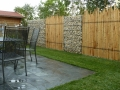 Прямые линии в саду