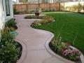Садовые дорожки из бетона и плитки
